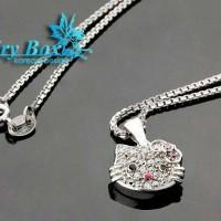 Kalung Fairy Box Perak Lapis Emas - WG 035