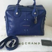 longchamp quadri large navy bag ori