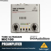 Behringer MIC100 [ MIC 100 ] MICROPHONE PREAMPLIFIER DIRECT BOX DI BOX