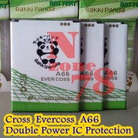 Baterai Cross Evercoss A66 Rakkipanda Double Power Protection