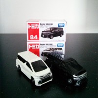 Tomica Reguler 84 Set Toyota Vellfire Black White