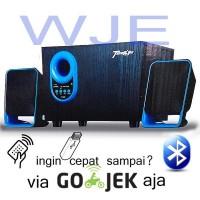Speaker Bluetoth GMC Teckyo 778a Suara super bass menggelegar di jamin