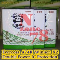 Baterai Cross Evercoss Winner X2 A74r Double Power Protection