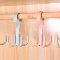 Gantungan serbaguna baju celana scarf ikat pinggang tas dapur - HHM448