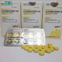Clenbuteric-20 (Clenbuterol 20mg x 100tabs) By : KEIFEI PHARMA