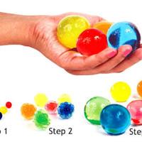 JUMBO WATERBEADS BESAR / water beads super slime sensory squishy