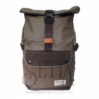 Tas Merk Bodypack 2807 Brown /Ransel/Kantor/Sekolah/Backpack/Travel