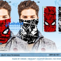Buff (Masker Multifungsi) SPIDERMAN 01 02