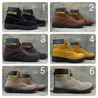 Sepatu Safety Boots Caterpillar Murah