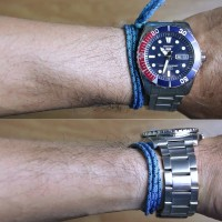 SEIKO 5 SNZF15 AUTOMATIC BLUE DIAL DIVER STAINLESS STEEL - Garansi