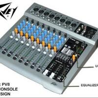 MIXER PEAVEY PV 8 USB PLAYER MIXER PEAVEY PV8 USB PLAYER (8MONO + EQ)