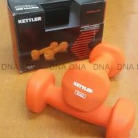 Dumbell Neoprene Kettler 4kg/pair - Barbel Neoprene Kettler 4kg/pair