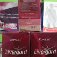 KONILIFE LIVERGARD Menjaga Melindungi Kesehatan Hati Liver KONIMEX