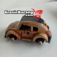 Miniatur Mobil Kayu Unik Koleksi Souvenir Khas Jogja Kualitas Super