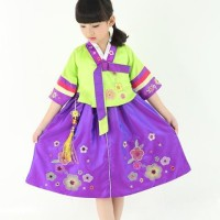 Hanbok girl baju anak dress tradisional korea kostum TX188