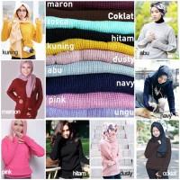 harga Roundhand Sweater Rajut/rajut Polos/baju Rajut/knit Sweater/round Hand Tokopedia.com