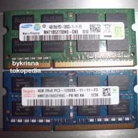 Jual Ram Laptop So-Dimm 4GB DDR3 Sodim SODIMM 4G DDR3L PC3L PC12800 Murah