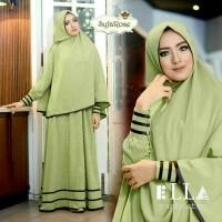 Baju Muslim / Hijabers/ Busana Wanita/Gamis Murah Syfarose Green
