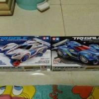 Dijual mobil mini 4wd merk Tamiya seri Trigale