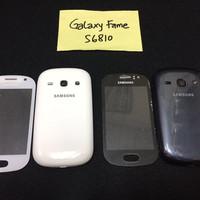 Casing / Kesing / Housing / Samsung Galaxy Fame S6810 White & Blue