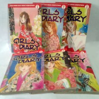 Komik Girls Diary 1-6 (TAMAT) - Yumi Kayama - Elex Media