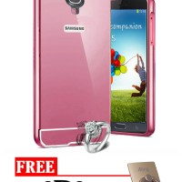 Bumper Mirror Case for Samsung Galaxy S4 - Free I Ring