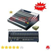 Murah !!! Mixer soundcraft fx16ii effect lexicon full m Murah