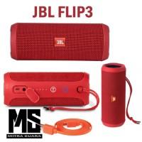 harga Jbl Flip 3 Speaker Bluetooth Original Garansi 1th Pt.ims - Red Tokopedia.com