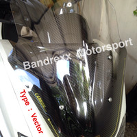 Jual Windshield sectbill carbon series for yamaha nmax. Murah