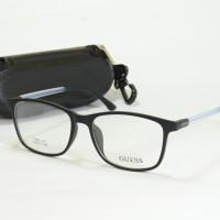 kacamata minus guess (frame+lensa) tr90 011 hitam
