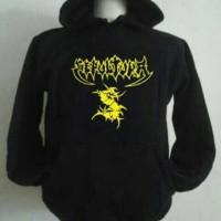 jaket sepultura,switer,tshirt hoodie sepultura hitam