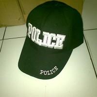 Topi Import Police Coklat
