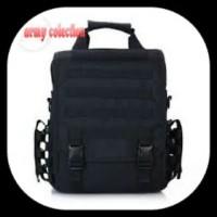 Tas Laptop Army 9700 HITAM Bag Ransel Gadget