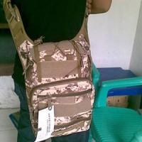 Tas Selempang 803 Import digital coklat Outdoor Bag Pinggang