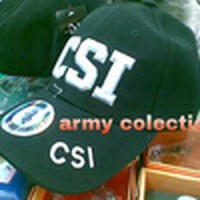 Topi CSI Army Import