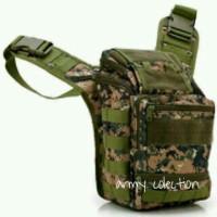 Tas Selempang Army Outdoor Backpack Bag Pinggang
