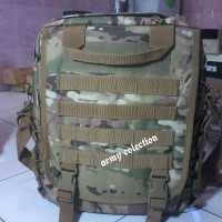 Tas Laptop Army 9700 Multicam Gadget Bag Ransel