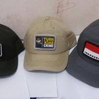 Topi Army + Patch ( Tempelan )