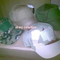 Topi Velcro Topi Army Import