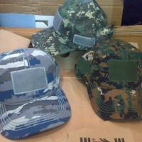 Topi Velcro Loreng Military Hats Topi Army