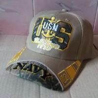 Topi Import USN (NAVY) Hat Army Keren