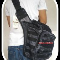 Tas Selempang Army 803 Motif Typon Outdoor Bag