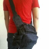 Tas Selempang 803 Mini Black Outdoor Bag Backpack