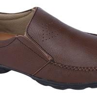 Sepatu Loafers Kulit / Sepatu Pantofel Kulit Pria Catenzo ( YR 002 )