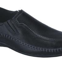 Sepatu Loafers Kulit / Sepatu Pantofel Kulit Pria Catenzo ( KI 1150 )