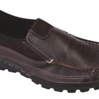 Sepatu Loafers Kulit / Sepatu Pantofel Kulit Pria Catenzo ( MR 745 )