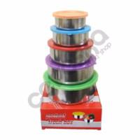 Rantang Stainless Susun 5 PROTCCT Fresh Box Tutup Warna