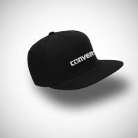 Topi Snapback Converse - Hitam