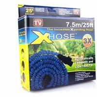 Jual X hose 7.5 Meter 25 Feet Ft selang air termasuk KEPALA spray Murah