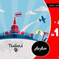 Tiket Promo Fixed Air Asia Jakarta - Bangkok